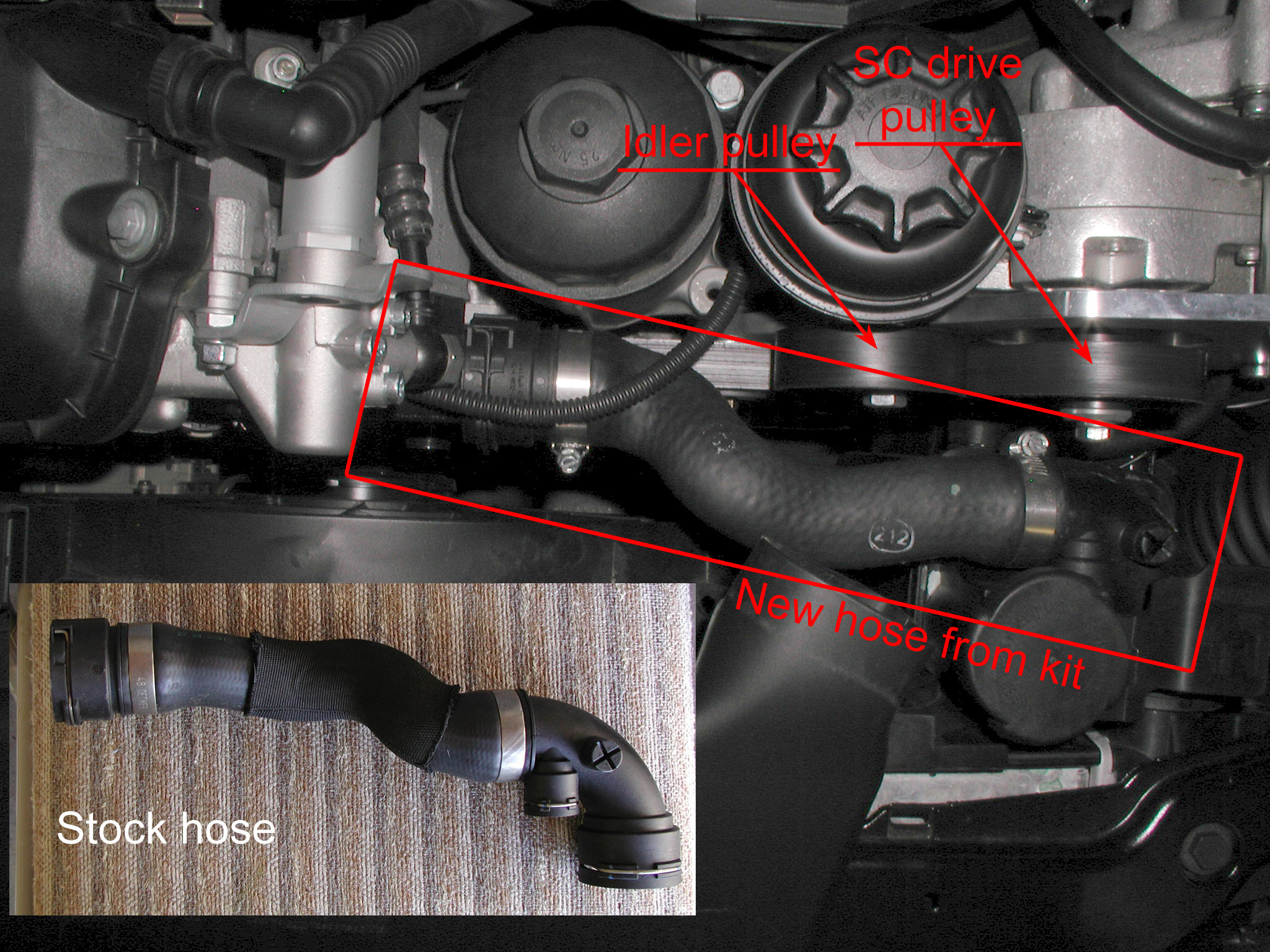 RADIATOR HOSE - UPPER AND LOWER RADIATOR HOSE REPLACEMENT